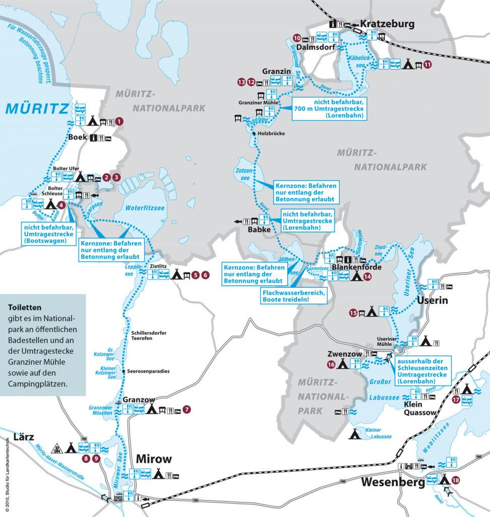 Mecklenburgische Seenplatte Karte Pdf.Bootsverleih Surf Hecht Boek